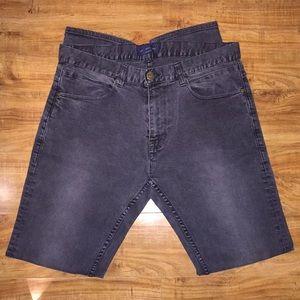 Zara Faded Black Denim Jeans